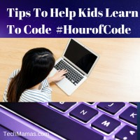 Tips To Help Kids Learn To Code #HourofCode
