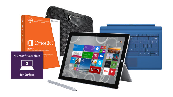 Microsoft Surface 3 Pro Bundle