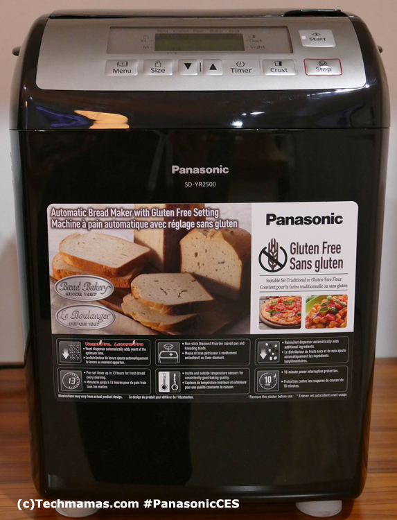 Panasonic Gluten Free Bread Maker