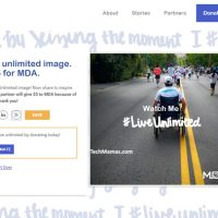 My MDA #LiveUnlimited Story: Learning To Keep Going